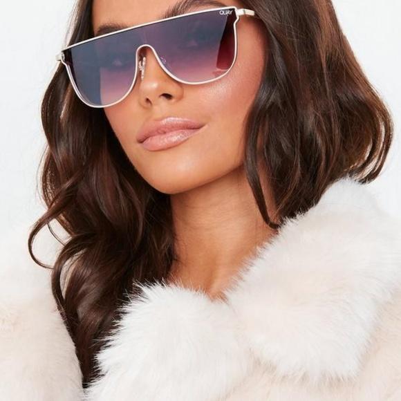 de85634d5d3 QUAY AUSTRALIA Can You Not (PURPLE) Sunglasses NWT